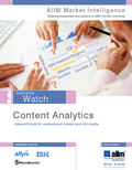 Content analytics research report